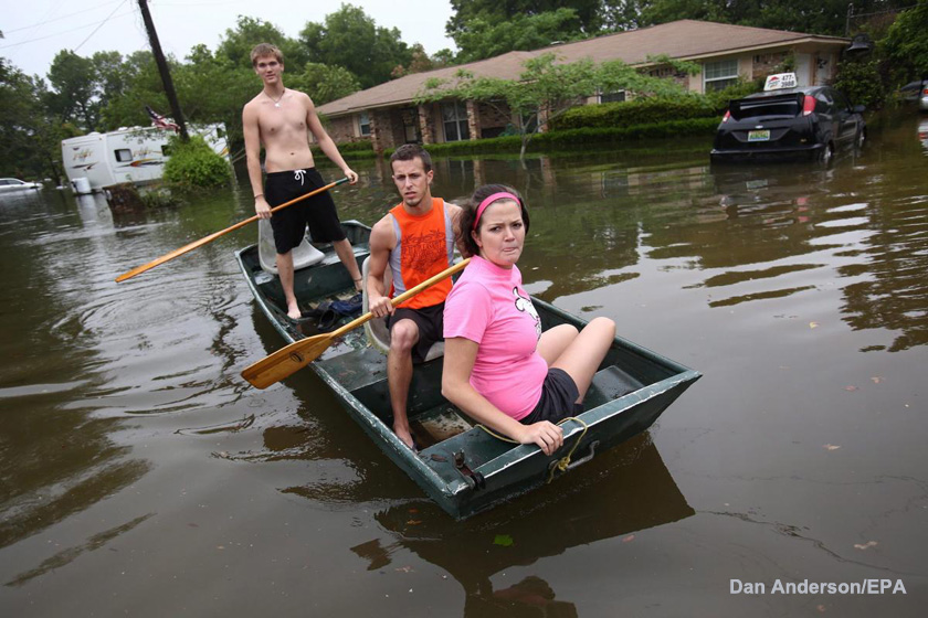 Pensacola Flooding Dan Anderson/EPA Photo